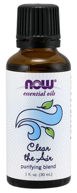 NOW® Foods NOW Essential Oil, Clear the Air Oil Blend (éterický olej čistý vzduch), 30 ml