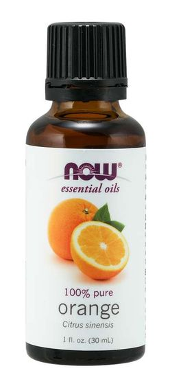 NOW® Foods NOW Essential Oil, Orange oil Pure (éterický olej pomeranč), 30 ml