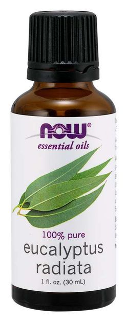 NOW® Foods NOW Essential Oil, Eucalyptus radiata oil (éterický eukalyptový olej), 30 ml
