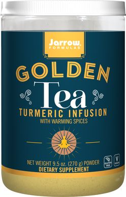 Jarrow Formulas Jarrow Golden Tea, Turmeric Infusion (extrakt z kurkumy), 270g