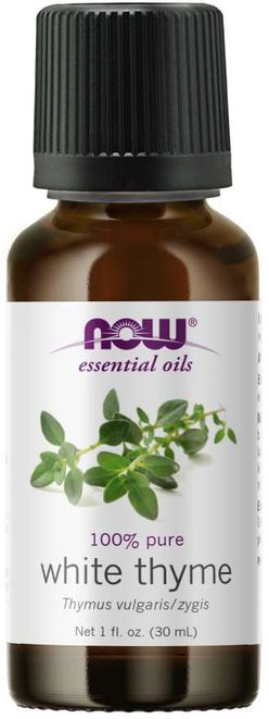 NOW® Foods NOW Essential Oil, White Thyme oil (éterický olej bílý tymián), 30 ml