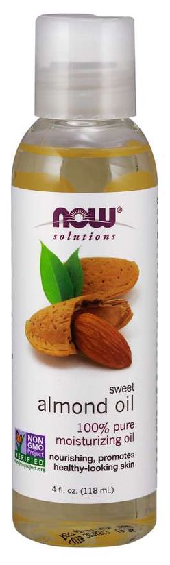 NOW® Foods NOW Almond oil (Mandlový olej), 118 ml