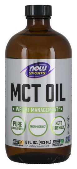 NOW® Foods NOW MCT olej, 473 ml
