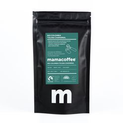Mamacoffee - Bio Colombia Tolima Chaparral, 100g Druh mletie: Mletá