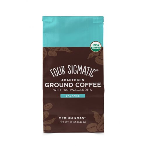Four Sigmatic Ashwagandha & Chaga Adaptogen Ground Coffee Mix, 340 g