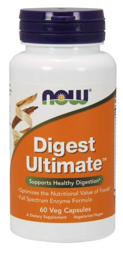 NOW® Foods NOW Digest Ultimate, 60 rostlinných kapslí