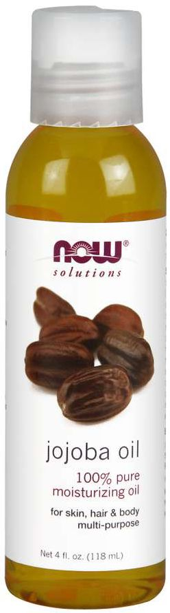 NOW® Foods NOW Jojoba oil, 100% Pure (Jojobový olej), 118 ml
