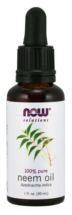 NOW® Foods NOW Neem oil, 30 ml