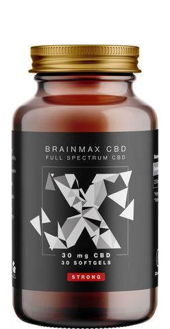 BrainMax CéBéDé Strong 30 mg, 30 softgel kapslí