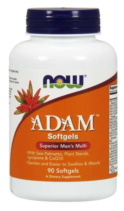 NOW® Foods NOW Adam, Multivitamin pro muže, 90 softgels