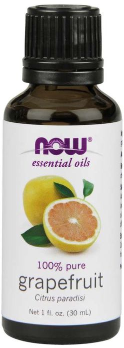 NOW® Foods NOW Essential Oil, Grapefruit oil (éterický grapefruitový olej), 30 ml