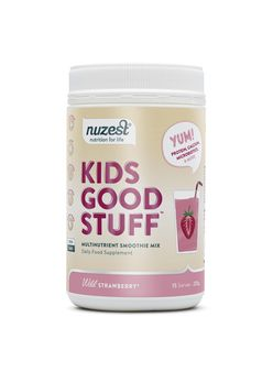 Nuzest - Kids Good Stuff, Wild Strawberry Balenie: 225g