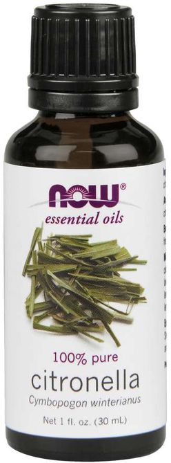NOW® Foods NOW Essential Oil, Citronella oil (éterický olej Citronella), 30 ml