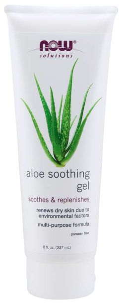 NOW® Foods NOW Aloe Soothing gel (zklidňující gel s aloe vera) - 237 ml