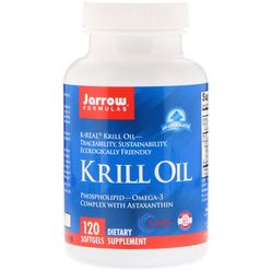 Jarrow Formulas Jarrow Krill Oil, 600 mg, 120 softgelových kapslí