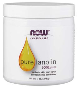 NOW® Foods NOW Lanolin, 100% Pure, 198g
