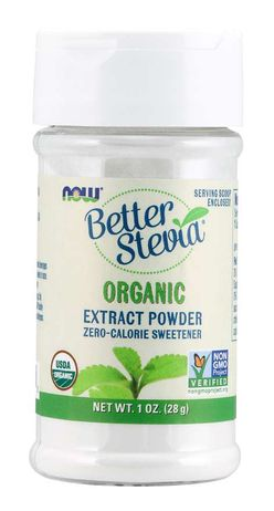 NOW® Foods NOW Better Stevia Extract Powder, Organic, 28 g