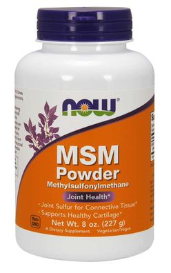NOW® Foods NOW MSM Methylsulfonylmethan, Powder 227g
