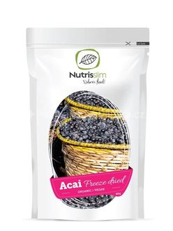 Nutrisslim Acai Berry Powder Bio, 60 g
