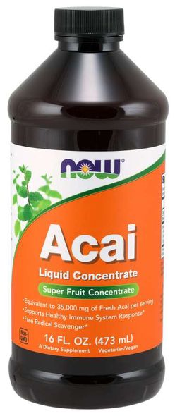 NOW® Foods NOW Acai Liquid Concentrate, 473 ml