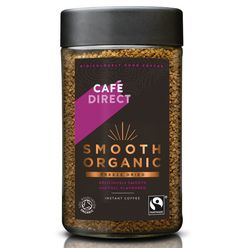 Cafédirect - BIO Smooth Organic instantná káva, 100 g