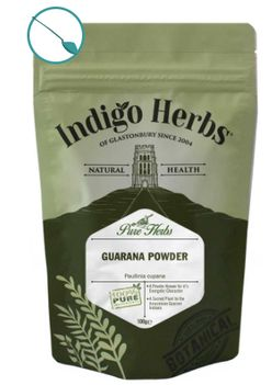 Indigo Herbs Guarana Powder, guarana v prášku, 100 g