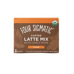 Four Sigmatic Lion's Mane Mushroom Coffee Latte mix Množstvo: 1 sáčok