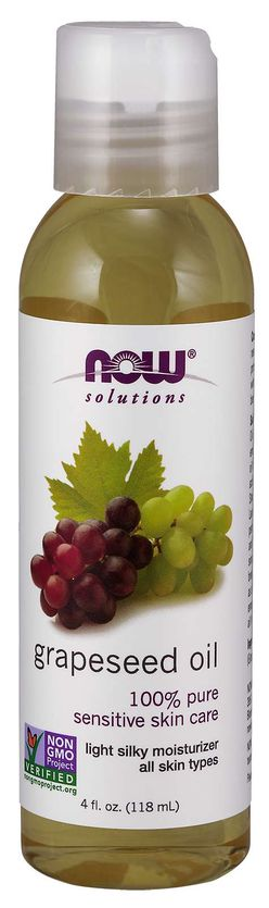 NOW® Foods NOW Grapeseed oil (Hroznový olej), 118 ml