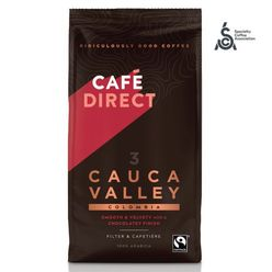 Cafédirect - Colombia Cauca SCA 82 Valley mletá káva, 227 g